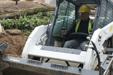 Excavation landscaping design