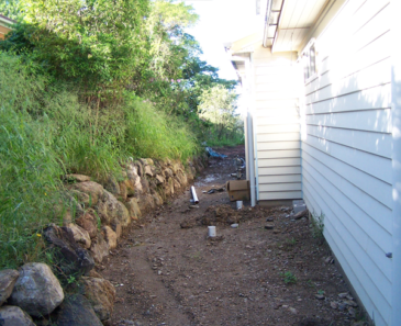 Rockwall retaining walls