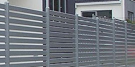 Slat fencing makes a great privacy screen for your home