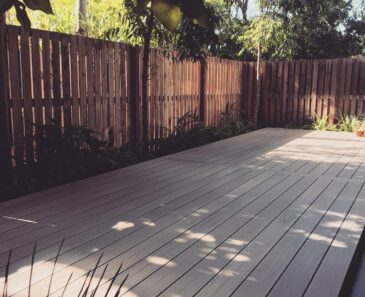 Decking and landscape design