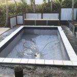 Pool refurbishment and refinishing.