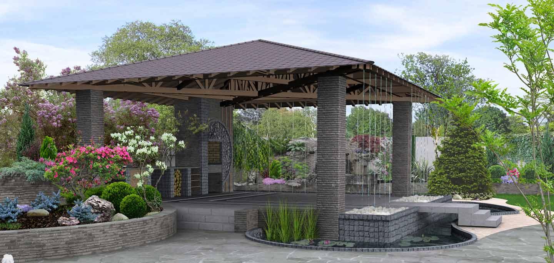 3D Rendering - Landscaping #D Rendered plans